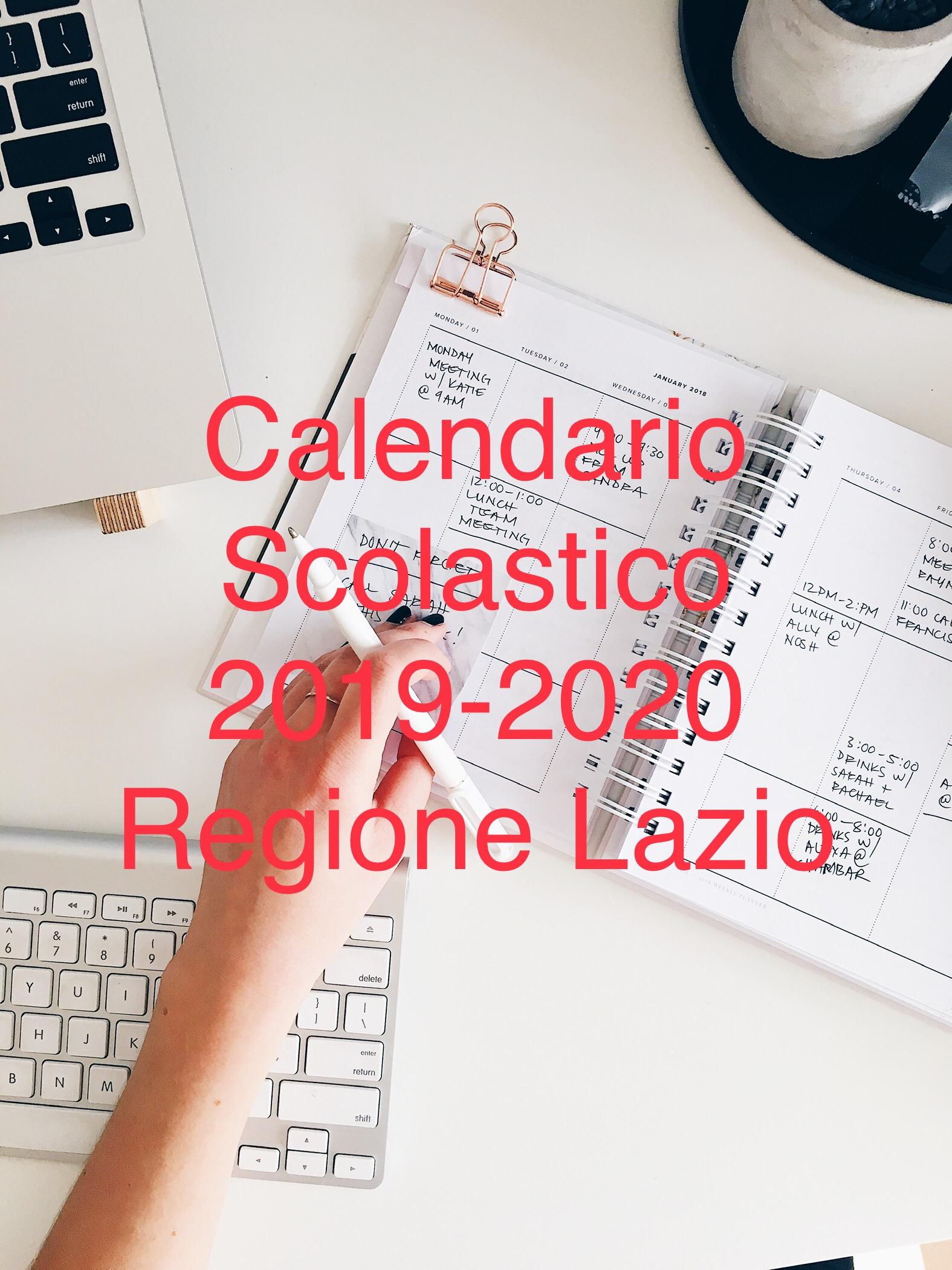 Calendario Scolastico Lazio 2020 18.Calendario Scolastico 2019 2020 Regione Lazio Flp Scuola Roma